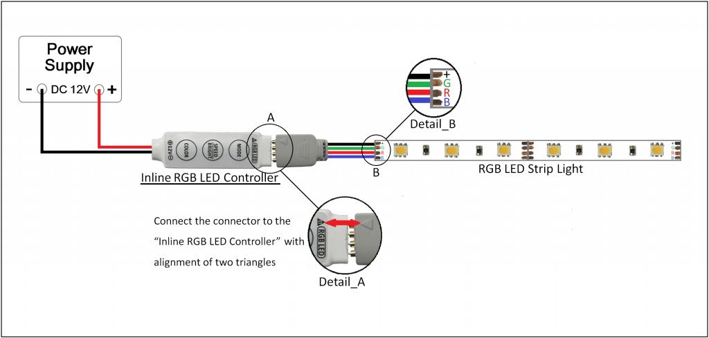 Diagram Rgb Led Controller