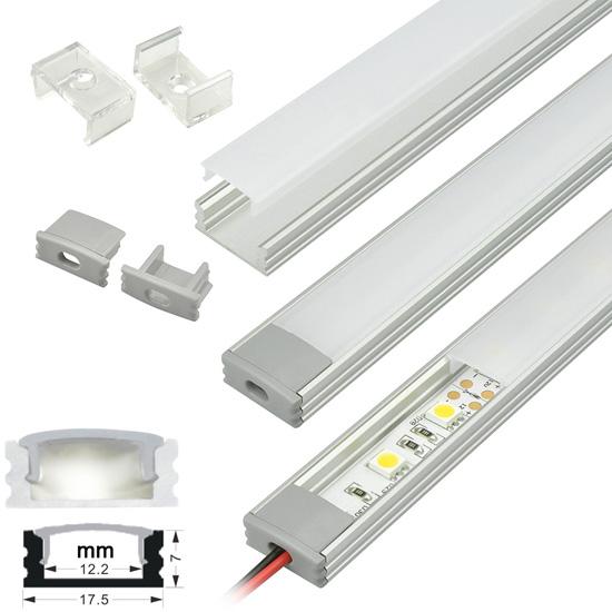 Aluminium Profile Slimline Enclosures Plugs And Sockets